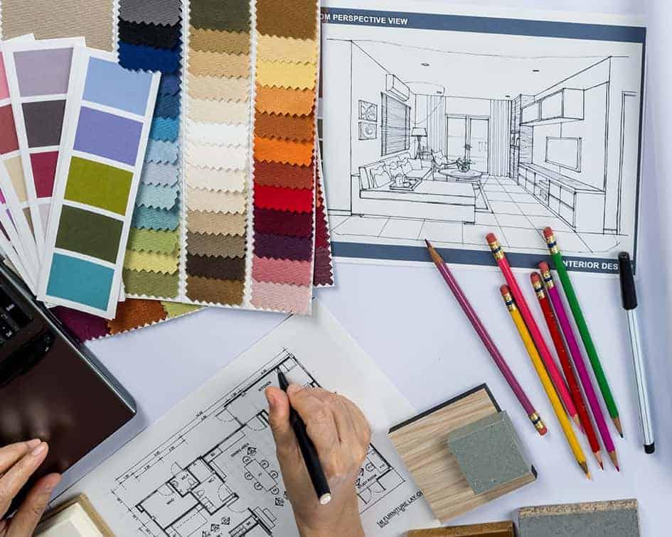Estudiar decoración de interiores