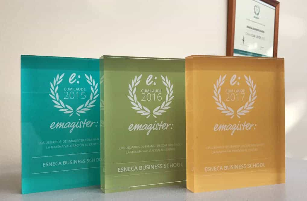 Varias escuelas del Grupo Esneca logran el Sello Cum Laude 2018