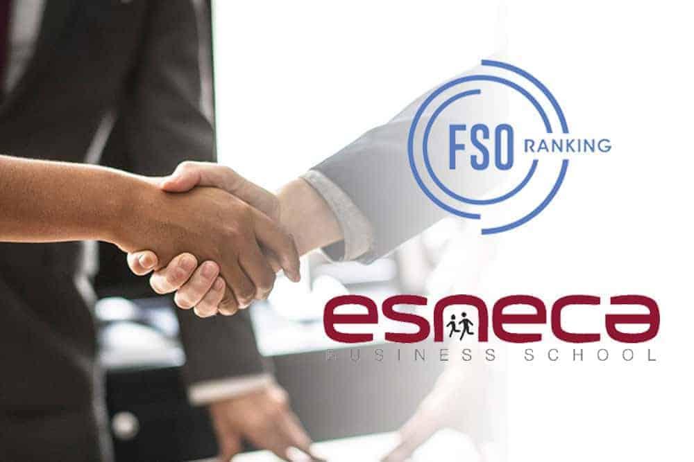 El Ranking FSO Mundial sitúa a ESNECA entre las mejores escuelas de negocios