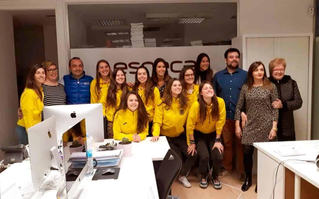 Esneca concede un doble máster en liderazgo y coaching deportivo al Club Patí Vila-Sana