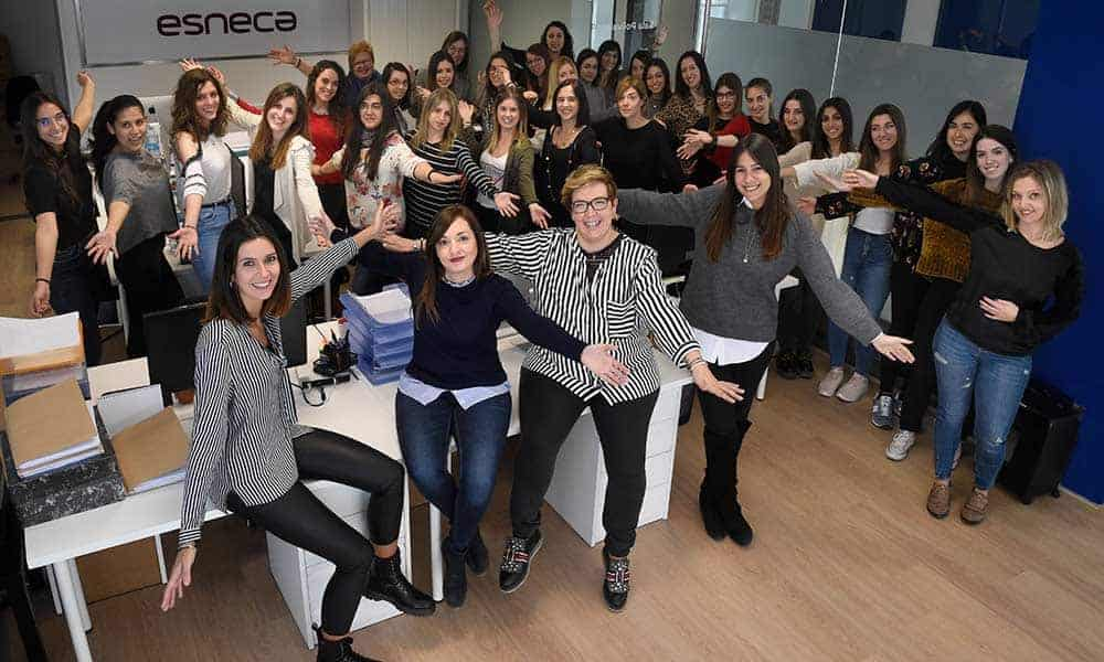 Grupo Esneca Formación sigue apostando por una política de igualdad en las empresas