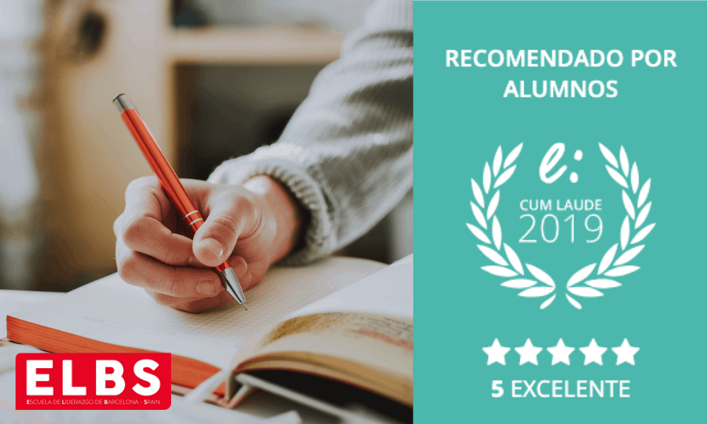 La Escuela ELBS recibe su Cum Laude 2019 por sus buenas opiniones