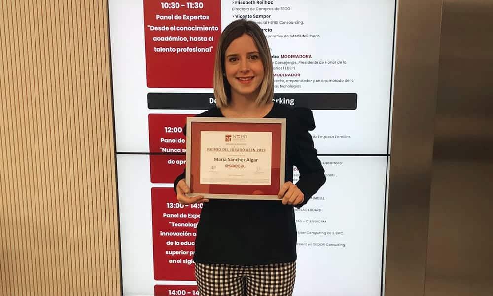 Esneca, premiada en el V Congreso Internacional de Escuelas de Negocios