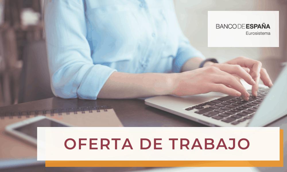 Oferta de Empleo: Auxiliar de Operaciones de Cocina – Banco de España