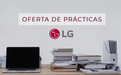 Oferta de Prácticas: Becas en LG