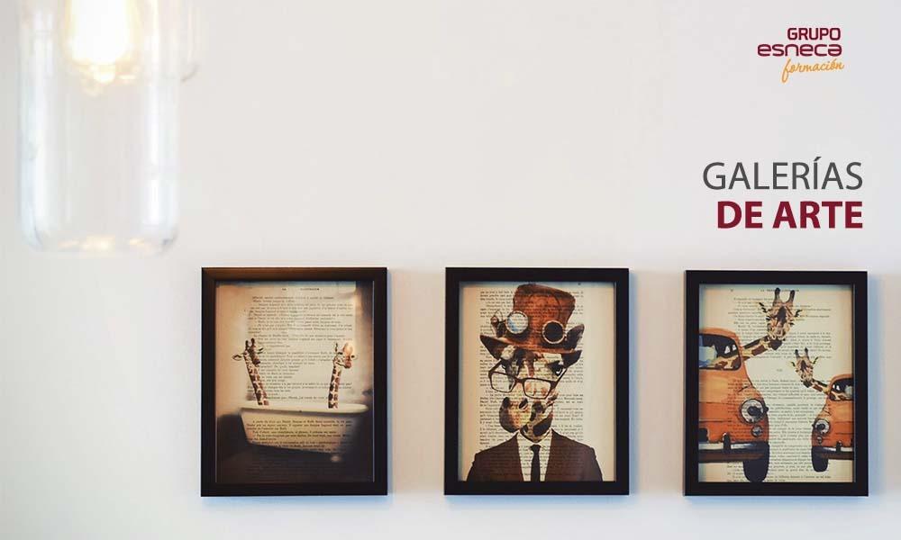 ¿Qué es y cómo funcionan las galerías de arte?