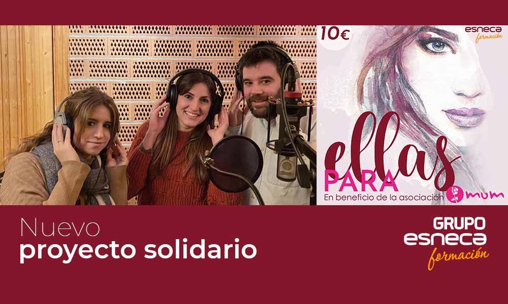 """Grupo Esneca grabará el disco solidario """"Para ellas"""""""