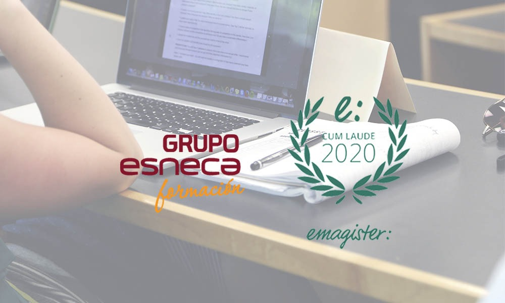 Sello Cum Laude 2020 por las opiniones de Grupo Esneca Formación