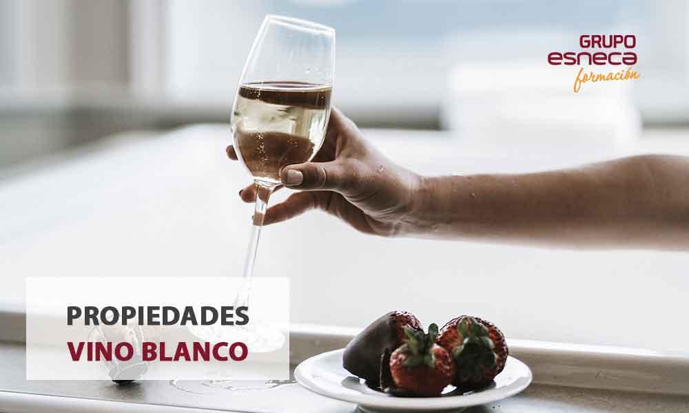 Propiedades del vino blanco que no sabías
