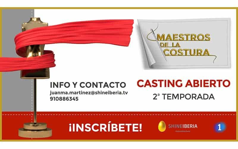 Participa en Maestros de la Costura