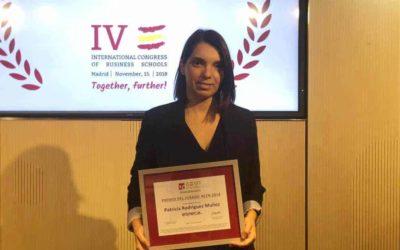 Esneca Business School galardonada con el Premio Profesor Escuela de Negocios AEEN 2018